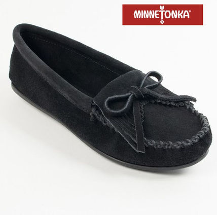 LA直送 ☆★MINNETONKA★☆ Kilty Hardsole - Black