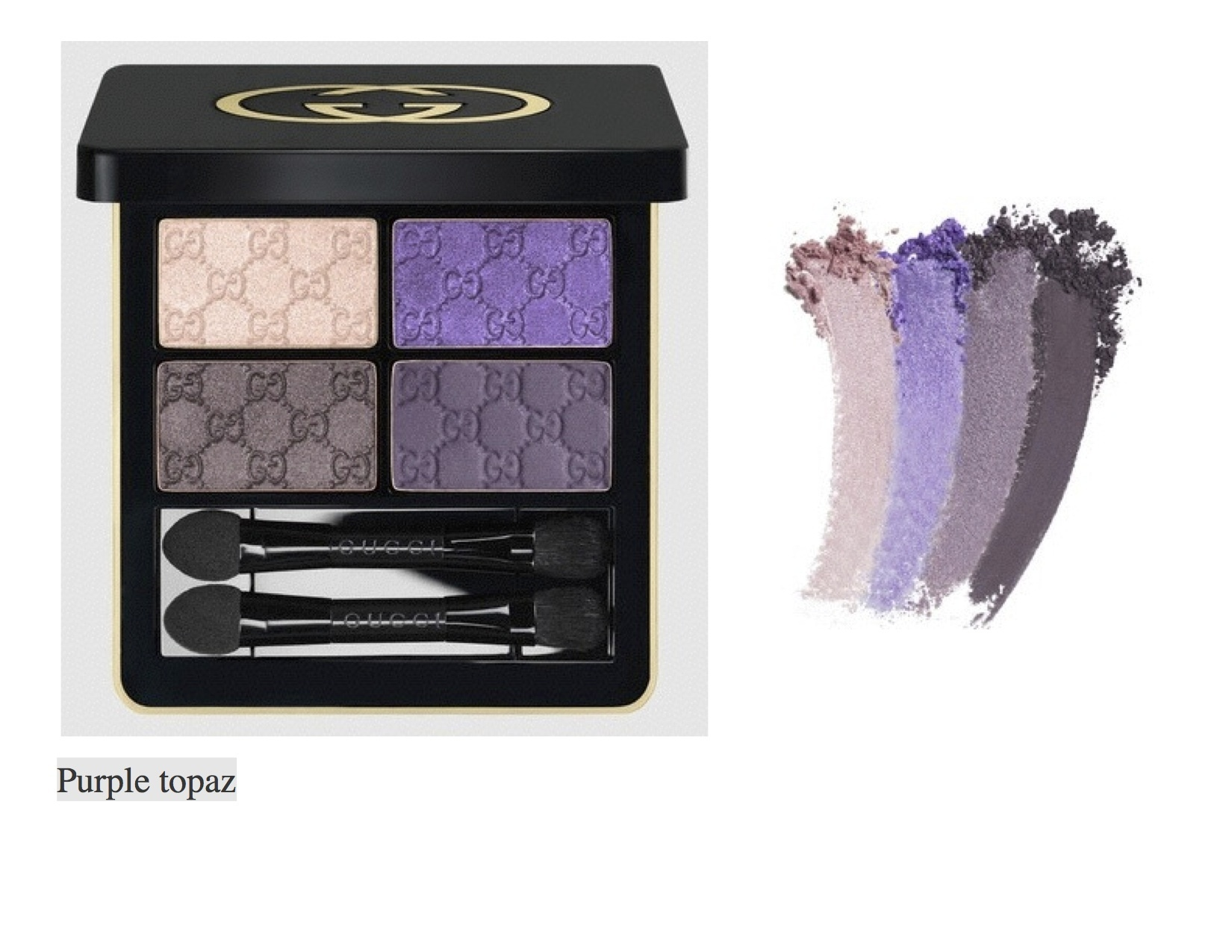 ☆日本未発売☆Gucci Magnetic Shadow Quad