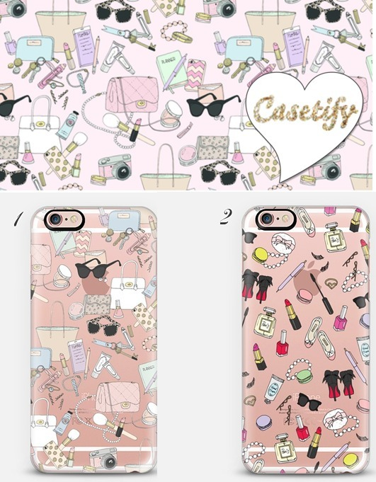 ☆Casetify ☆Girly Things☆iPhoneクリアケース☆