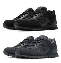 爽やか!!! 男の一品☆New Balance  574☆ Black Dark Grey