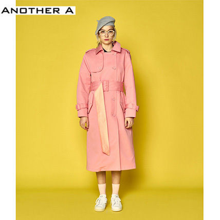 【ANOTHER A】正規品★韓国人気★トレンチコートPK(追跡配送)