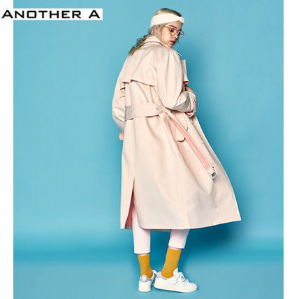 【ANOTHER A】正規品★韓国人気★トレンチコートBEG(追跡配送)