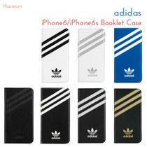 〓adidas〓iPhone6/iPhone6sケース Booklet Case 手帳型