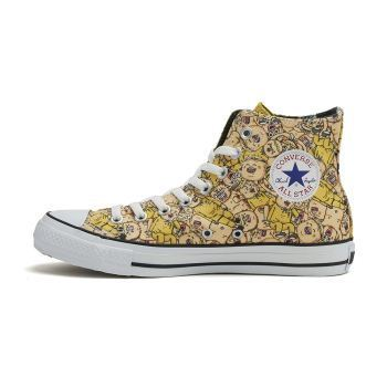 国内購入★CONVERSE ALL STAR COMICNIPPON MG HI 32069173 黄色