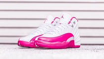 "★WMNS★[NIKE]Air Jordan 12 GS ""Dynamic Pink""【送料込】"