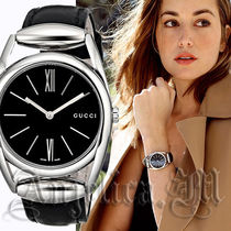 ★大人気新作★Gucci 139 Horsebit Black Dial Watch YA139401