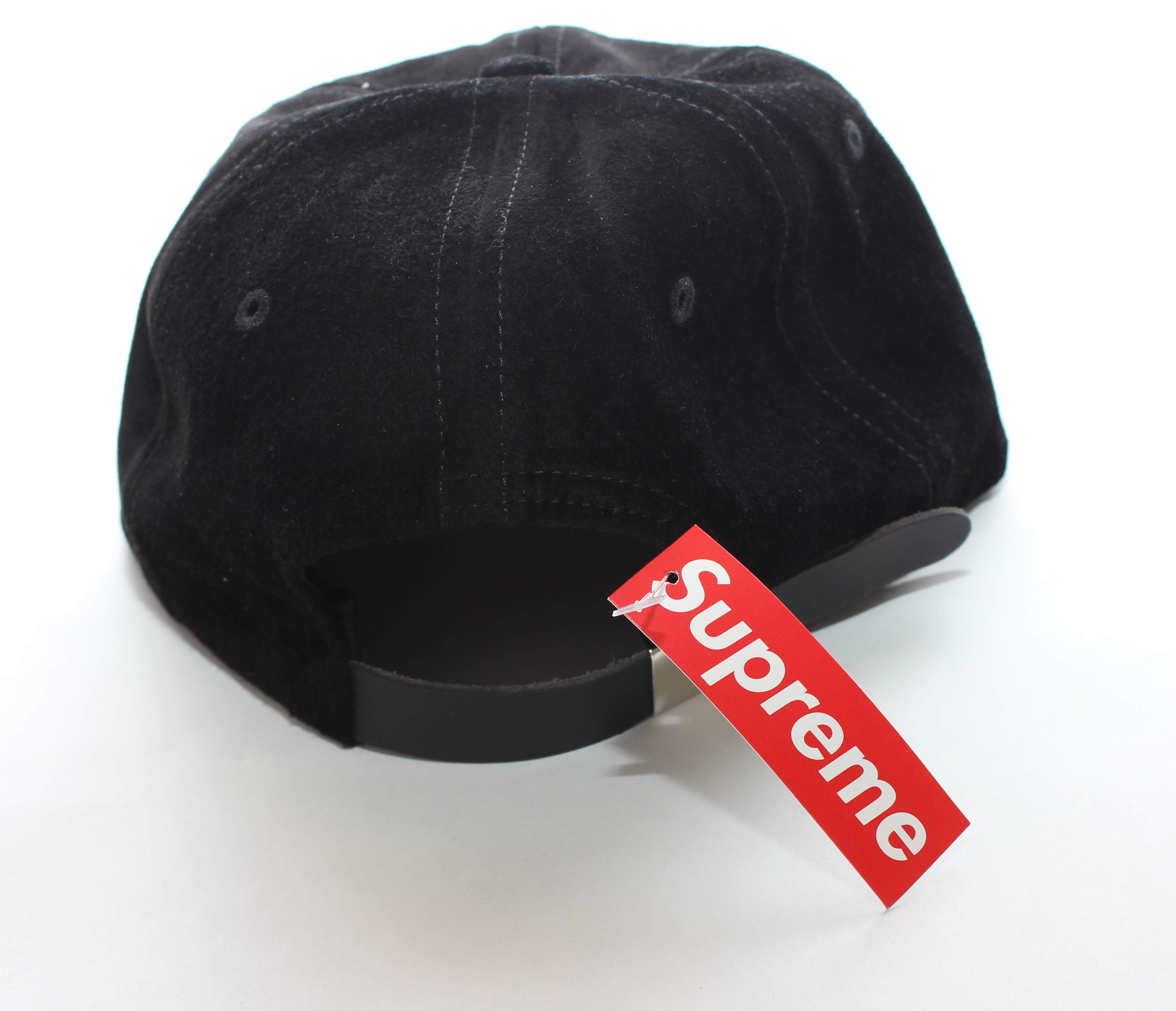 [16S/S] 国内発送 Supreme Suede Classic logo 6 panel Cap