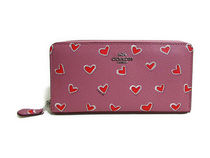 COACH BXD HEART PRINT COATED CANVAS F53885