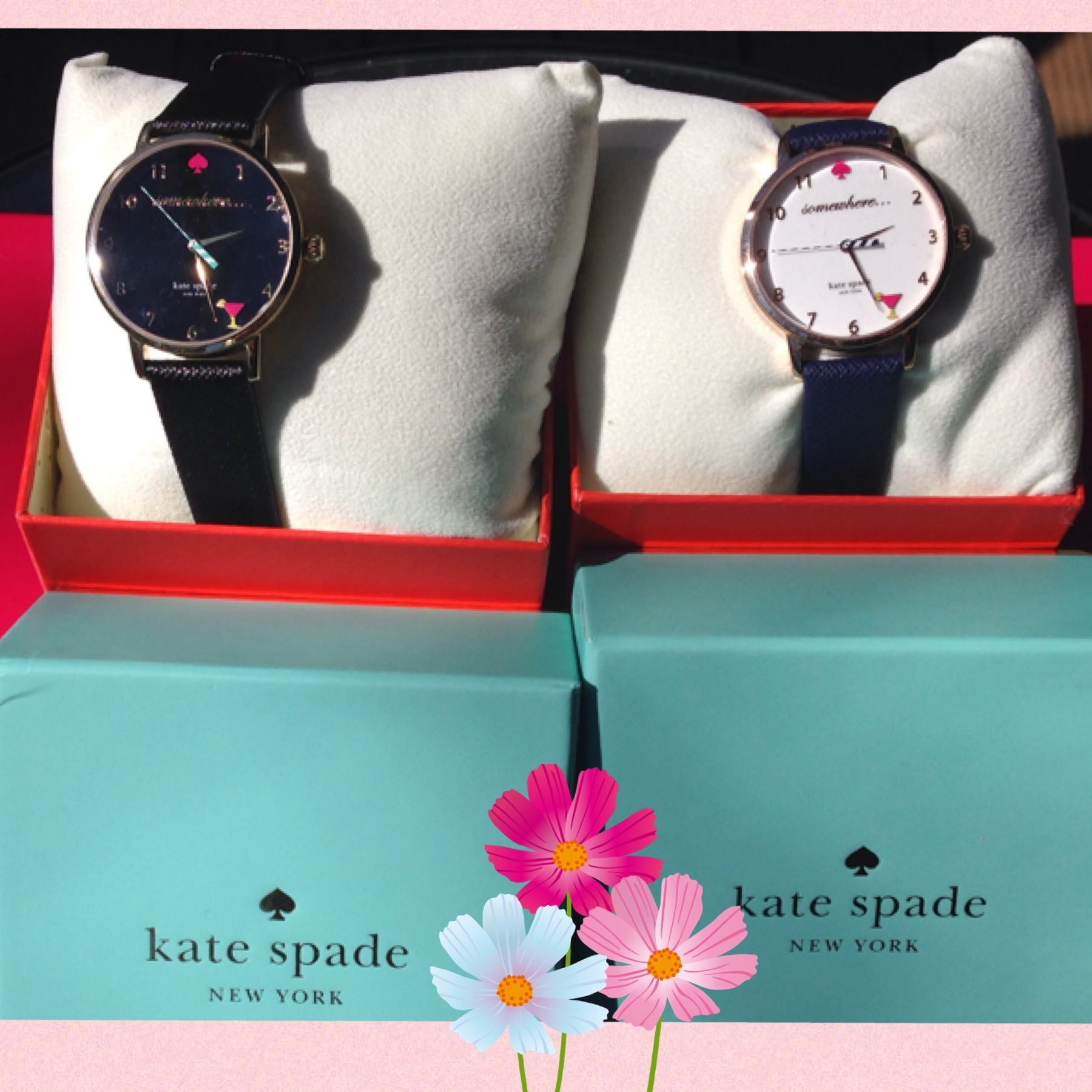 ☆関税込☆Kate Spade 5 o'clock Metro Watch★円高還元セール★