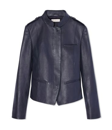 Tory Burch LEATHER MOTORCYCLE JACKET