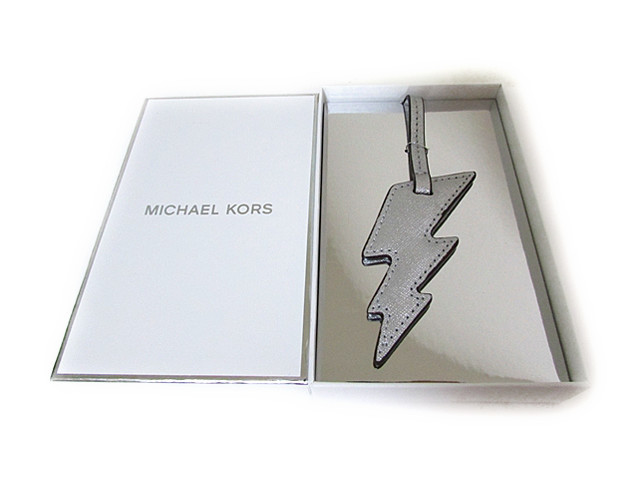 MICHAEL Michael Kors MONOGRAM CHARMS LIGHTENING BOLT