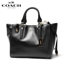 国内即発★COACH★CROSBY carryall in Smooth leather 33545
