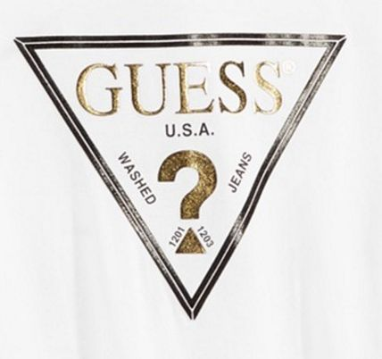 Guess Tシャツ・カットソー SS16★大人気★送料込み★Guess ロゴ Tシャツ White (2)