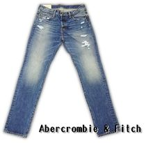 【Abercrombie&Fitch】 アバクロ デニム ジーンズ ◆ 関税込み
