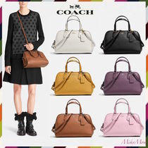 最安値&関税不要COACH☆NOLITA satchel in pebble leather 35650