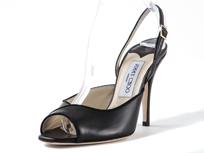 【関税負担】  JIMMY CHOO 081ARRISA BLACK /EMS