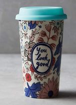 Anthropologie【アンソロポロジー】Sweet Salutation Travel Mug