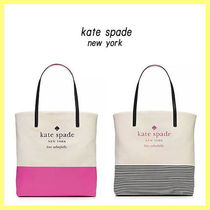 【SALE】kate spade■ロゴトートバッグ/basin view bon shopper