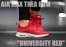 "★WMNS★[NIKE]AIR MAX THEA PRM ""UNIVERSITY RED""【送料込】"