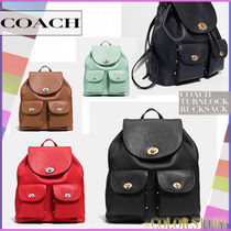 【COACH】●MUST HAVE!●リュックサック ターンロック 37582
