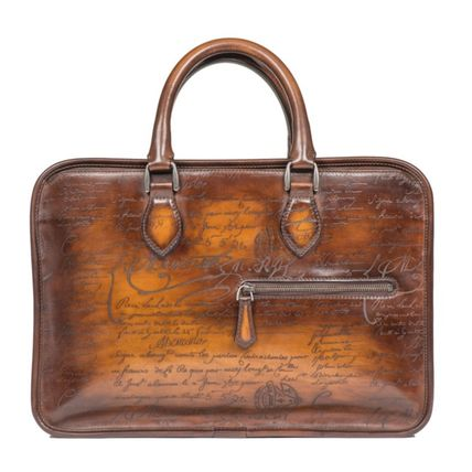 Berluti calligraphy Mini Un JOUR business bag