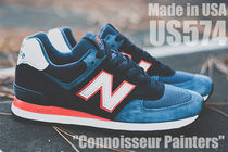 "[New Balance]US574BL""Connoisseur Painters"" USA製【送料込】"