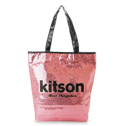 kitson トートバッグ キットソン トートバッグ Sequin NS Tote bag ナイロン KHB0263