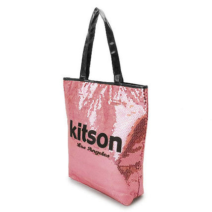 kitson トートバッグ キットソン トートバッグ Sequin NS Tote bag ナイロン KHB0263(2)
