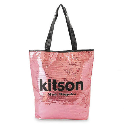 kitson トートバッグ キットソン トートバッグ Sequin NS Tote bag ナイロン KHB0263(3)
