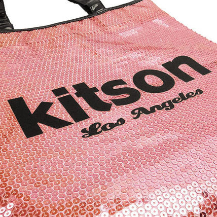 kitson トートバッグ キットソン トートバッグ Sequin NS Tote bag ナイロン KHB0263(6)