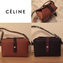 ★ヨーロッパ、ほぼ完売★ CELINE【BOX ON STRAP】Tan or Navy