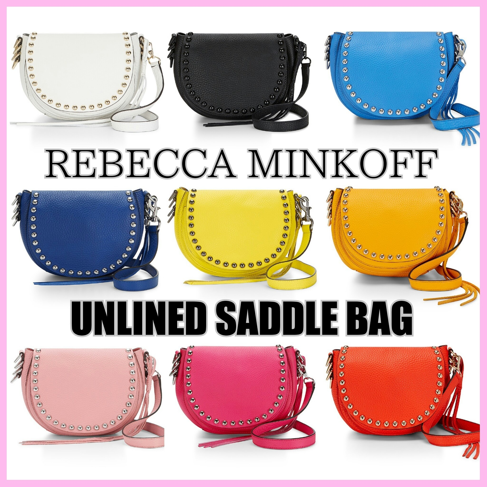 【国内発送】Rebecca Minkoff UNLINED SADDLE BAG★New♪♪