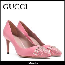 ★GUCCI★ハイヒールピンクパンプス<国内発送・関税無>