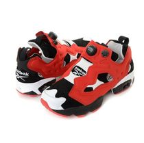 セール☆REEBOK☆INSTAPUMP FURY BLACK/POWER RED/WHITE