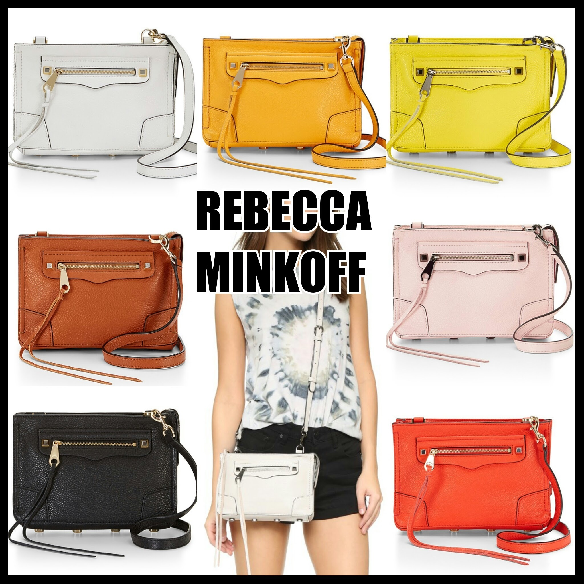 【国内発送】Rebecca Minkoff REGAN CROSSBODY★2WAY♪♪