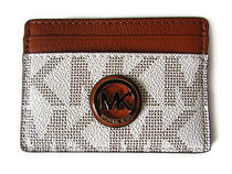 【返品可/国内発送】MICHAEL Michael Kors FULTON CARD HOLDER