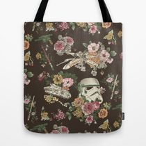 日本即納★【Society6】 Botanic Wars トートバッグ