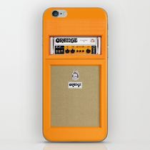 【海外限定】society6★Retro Orange amp  iPhoneシール