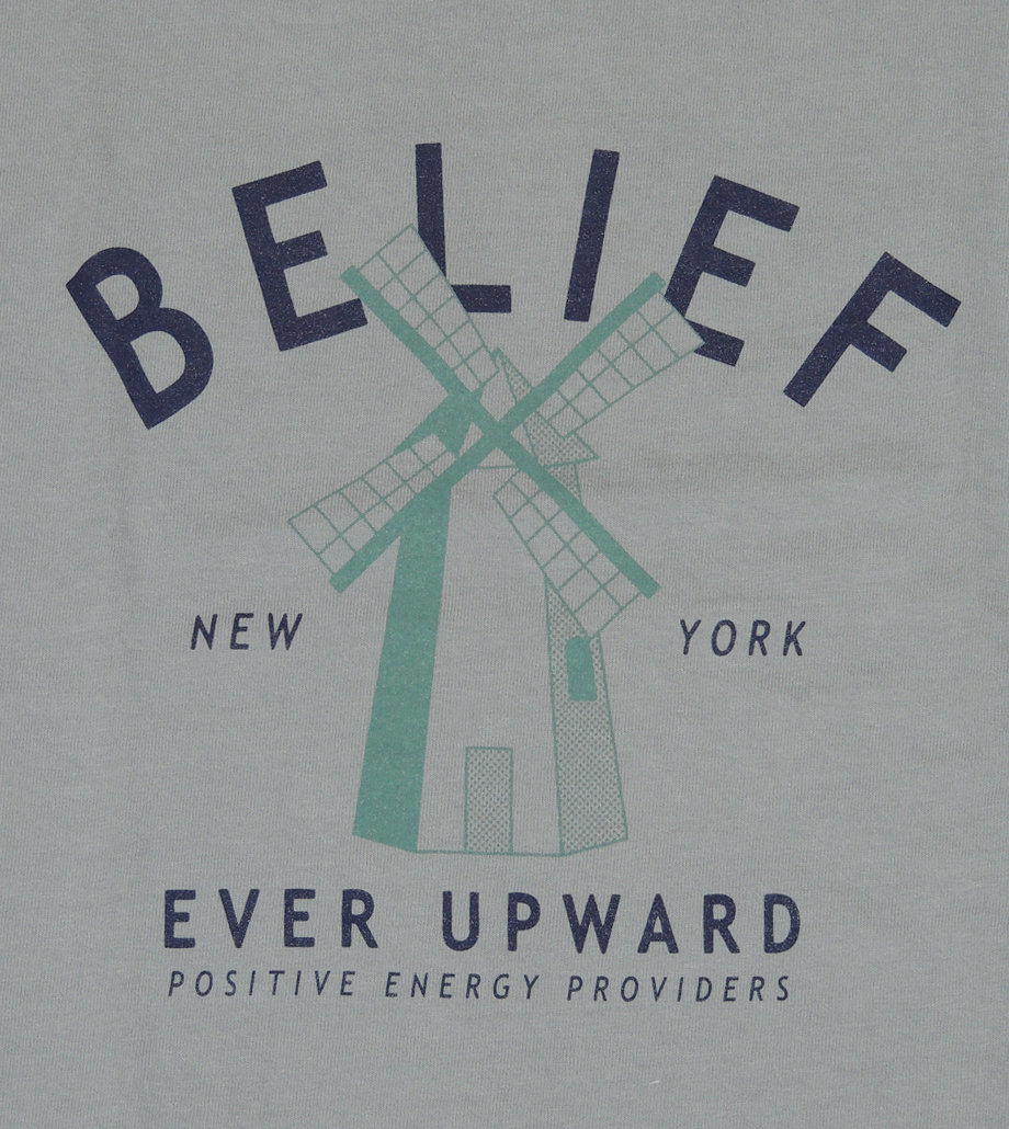 BELIEF NYC OLD MILL Tシャツ