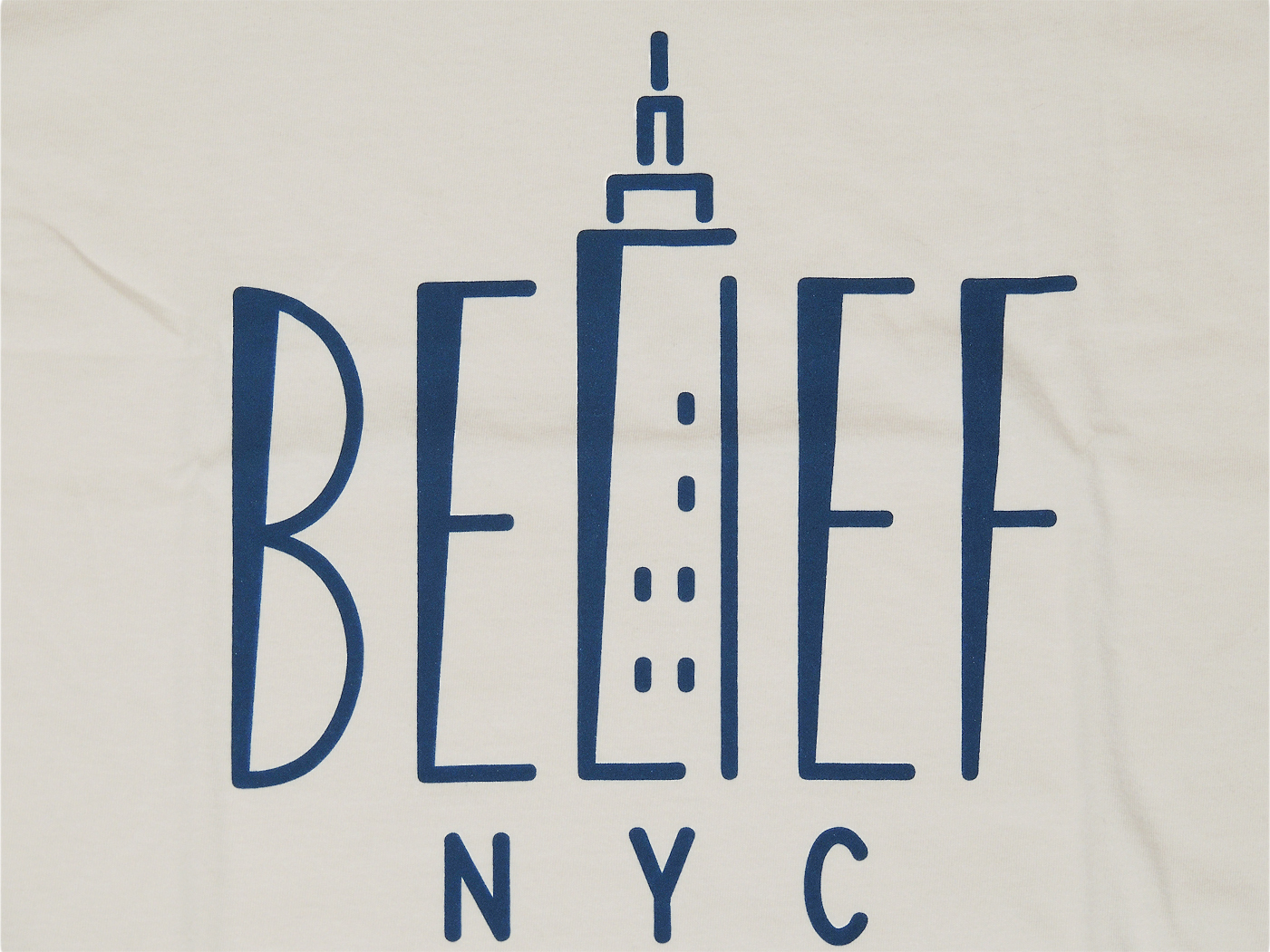 BELIEF NYC EMPIRE Tシャツ