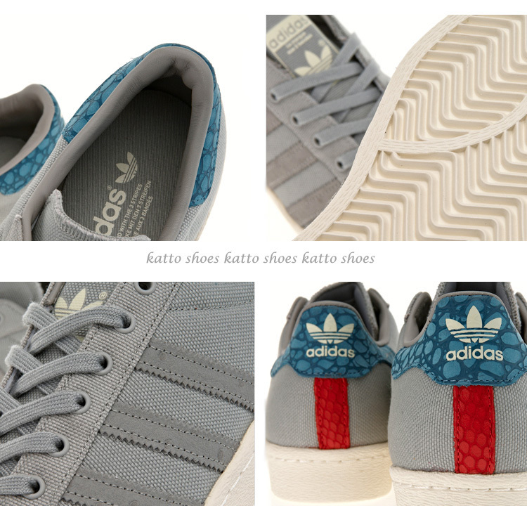 adidas☆SUPERSTAR 80s ANIMAL ODDITY★パイソン★兼用☆22~29cm