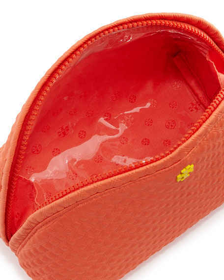 TORY BURCH/Beach Neoprene Rounded Cosmetic Case(関税込)
