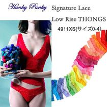 Hanky Panky(ハンキーパンキー) ショーツ 即発Hanky Panky Signature Lace *XS* Low Rise Thong(0-4)