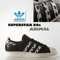 adidas★SUPERSTAR 80s ANIMAL★PONY レオパード★ハラコ22~28cm