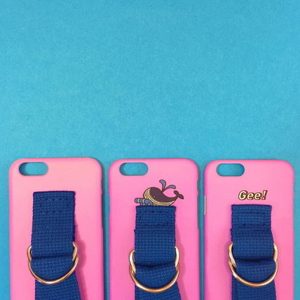 SECOND UNIQUE NAME iPhone・スマホケース 【日本未入荷】「SECOND UNIQUE NAME」 スマホ ケース PINK+BLUE(11)