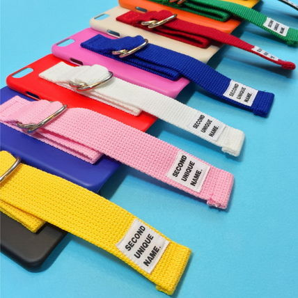 SECOND UNIQUE NAME iPhone・スマホケース 【日本未入荷】「SECOND UNIQUE NAME」 スマホ ケース PINK+BLUE(12)