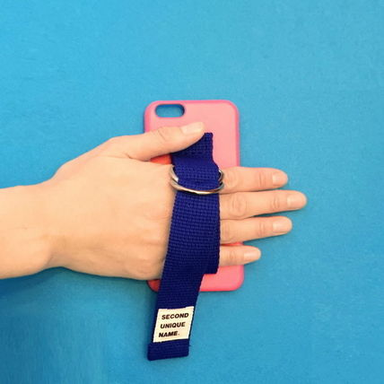 SECOND UNIQUE NAME iPhone・スマホケース 【日本未入荷】「SECOND UNIQUE NAME」 スマホ ケース PINK+BLUE(8)