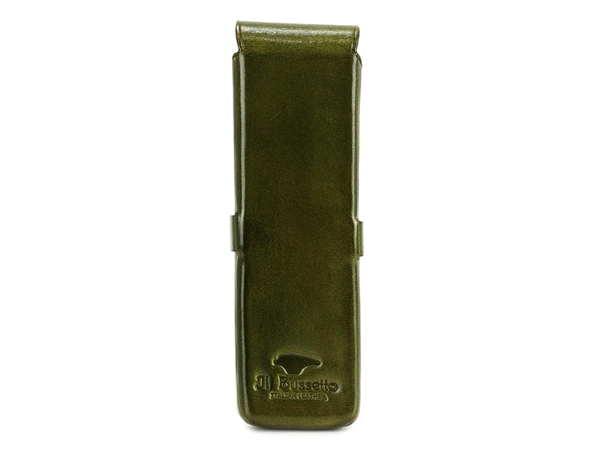 Il Bussetto ペンケース 7815157 GREEN d7815157green