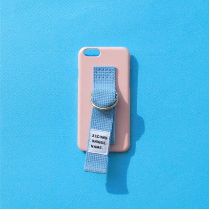SECOND UNIQUE NAME iPhone・スマホケース 【日本未入荷】「SECOND UNIQUE NAME」 スマホケースPINK+L.BLUE