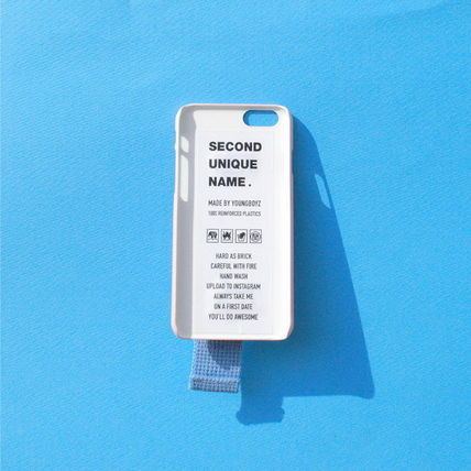 SECOND UNIQUE NAME iPhone・スマホケース 【日本未入荷】「SECOND UNIQUE NAME」 スマホケースPINK+L.BLUE(2)